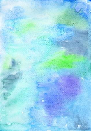 Big artistic watercolor background