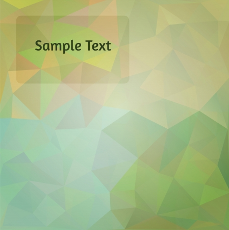 tints: Polygon design stylized abstract background. Subdued vintage tints.