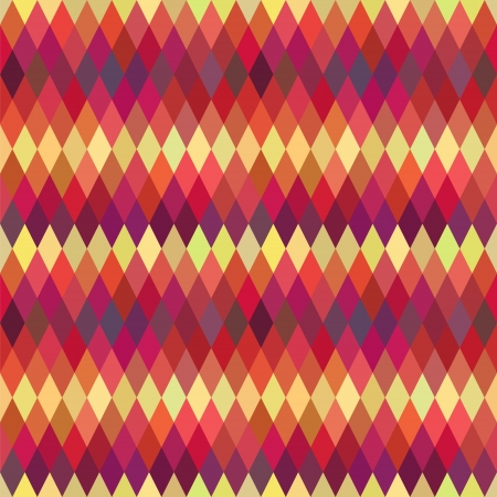 varied: Abstract seamless pattern. Varied colorful rhombs. Modern flat design style Illustration