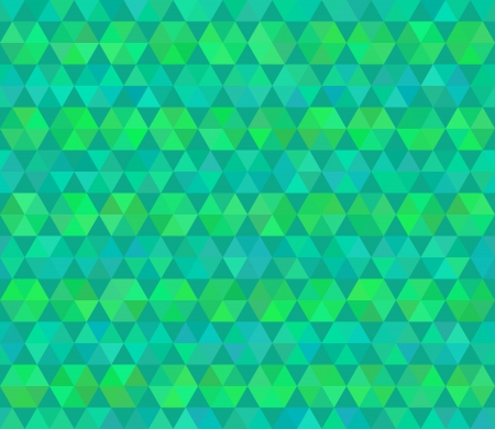 Stylized flat colors vector seamless pattern. Abstract hexagons. Vector