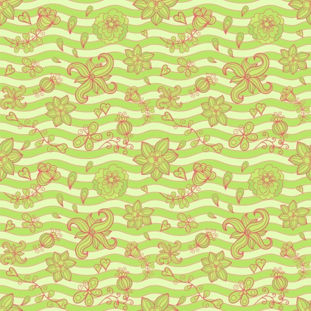 Doodle seamless pattern Stock Vector - 22163273