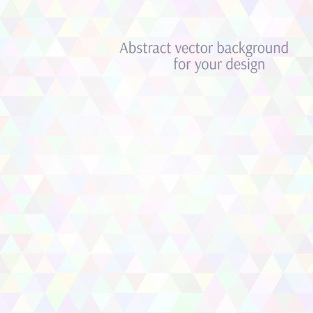aerate: Sfondo astratto vettoriale. Design piatto stilizzato. Colori delicati arioso. Vettoriali