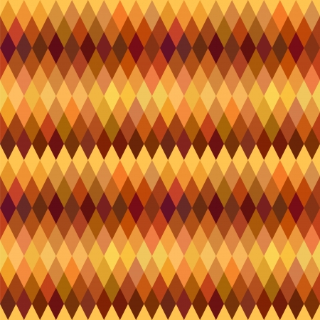 varied: Abstract vector seamless patterns. Brown and orange varied colors. Flat design style. Illustration
