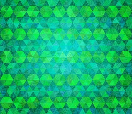 varied: Abstract vector background. Stylized flat design with hand drawn textured wavy lines on top. Green and blue varied colors. Illustration
