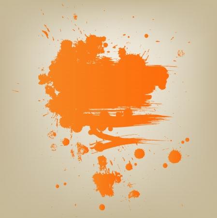 advertisment: Artistic vector paint banner Illustration