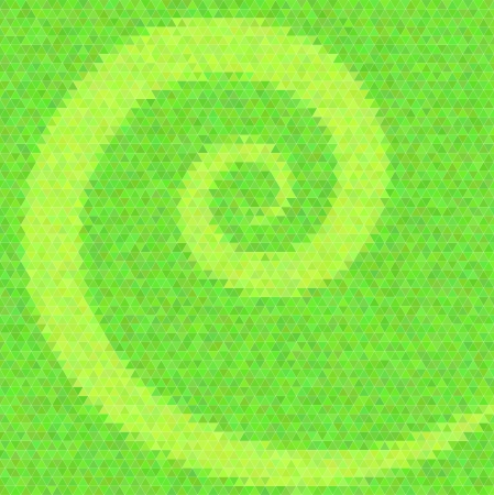 inlay: Abstract vector background. Polygin style inlay. Spiral.