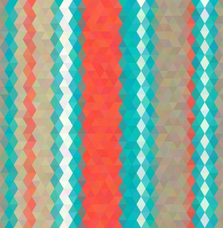 muted: Abstract vector background. Polygon mosaic style. Retro elegant muted tints, vertical stripes of color