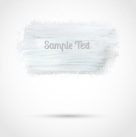 peinture blanche: R�sum� banni�re de peinture blanche. Vecteur de fond pour votre conception
