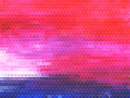 Abstract vector background. Polygon style. Resembles colorful inlay Vector