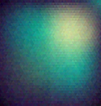 Abstract vector polygon style background Vector