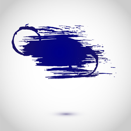 impress: Abstract vettore sfondo. Vernice Grunge banner Vettoriali
