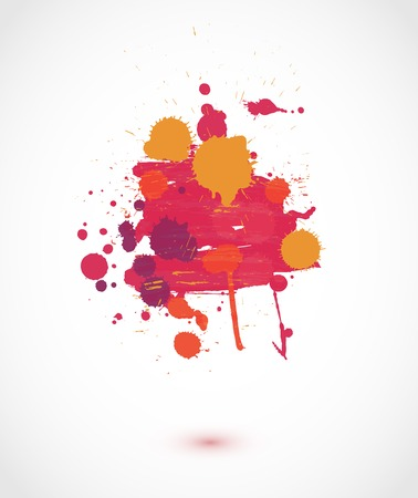 Abstract artistic paint vector background Vector