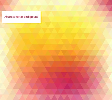 Abstract vector polygonal background for Your design Illustration