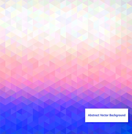 pastel shades: Abstract vector polygonal background for Your design Illustration