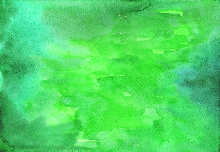 Raster background. Colorful watercolor art