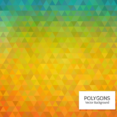 variegated: Abstract vector polygonal background for Your design Illustration
