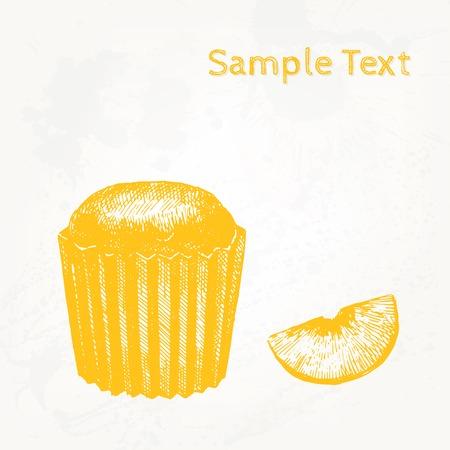 cake background: Vector cake background Illustration