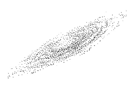 Galaxy illustration drawing engraving ink line art vector