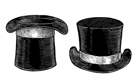 Black cylinder illustration drawing engraving ink line art vector Illusztráció