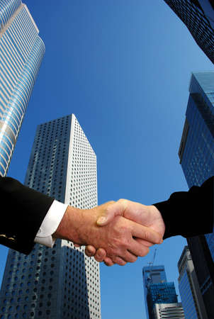 Corporate deal photo
