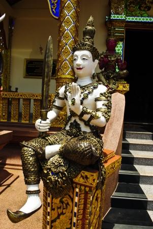 angel de la guarda: Estatua De Estilo Tailand�s �ngel de la Guarda