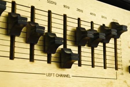 retro audio sound mixer Stock Photo - 14569399