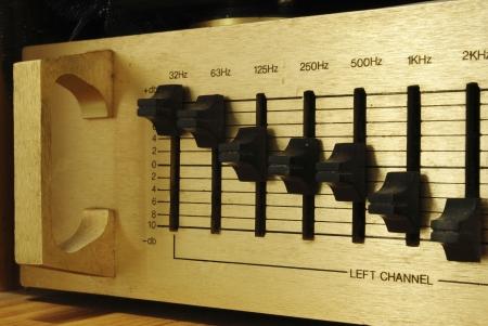 retro audio sound mixer Stock Photo - 14569708