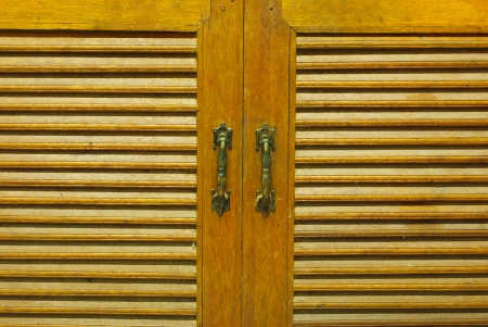 Kitchen Cabinet Doors Stock Photo