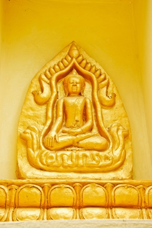 buddha statue on wall Stock Photo - 15158346
