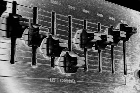retro audio sound mixer Stock Photo - 15233100