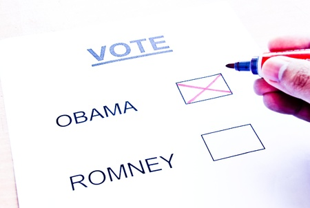 Vote Obama Stock Photo - 15950757