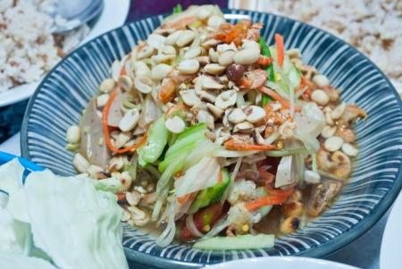 Papaya Salad ,Somtum Thai Food photo
