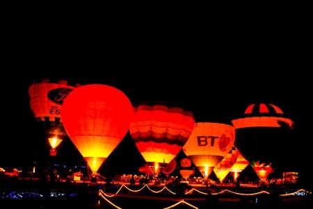 saga: The balloon at night , Thailand