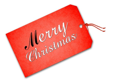 Christmas tag Stock Photo - 16592852