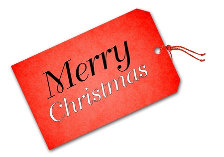 Christmas tag Stock Photo - 16593080