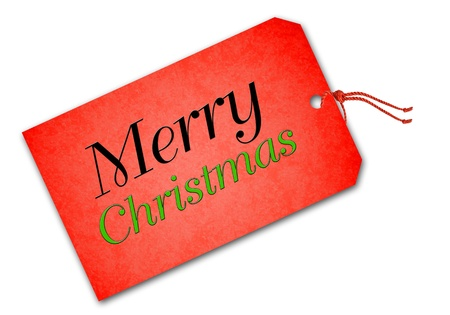 Christmas tag Stock Photo - 16593245