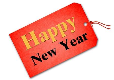 Happy new year 2013 tag photo