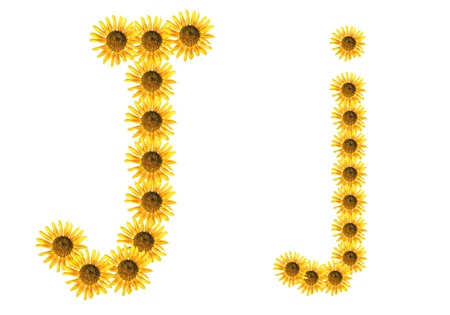 Font flower Stock Photo - 18836408