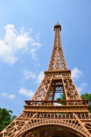 Eiffel tower replica in Pattaya,Thailand photo