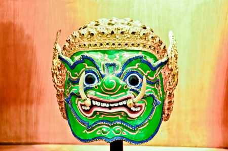 Thai Mask photo