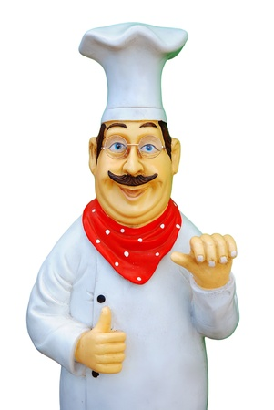 Statue of chef photo
