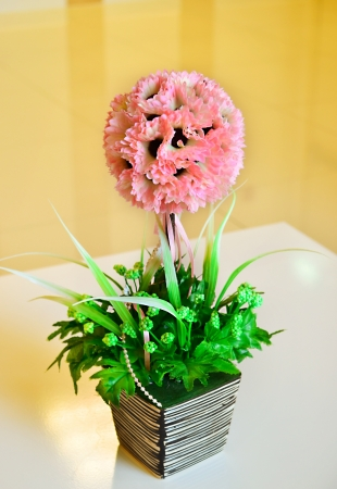 Spring Bouquet in room photo