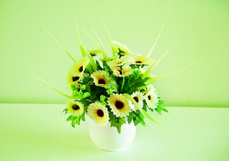 Spring Bouquet in room Stock Photo - 22132825