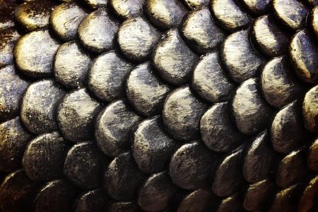 escamas de peces: la textura de escamas de pescado Foto de archivo