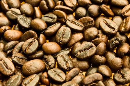 roasted coffee beans, can be used as a background photo