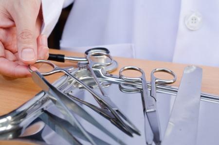 Chirurgisch instrument dotor Stockfoto