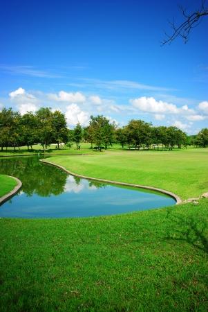 Campo da golf Archivio Fotografico - 24149890