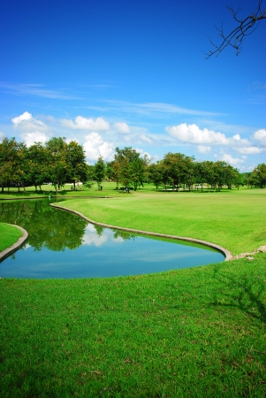 golf course photo