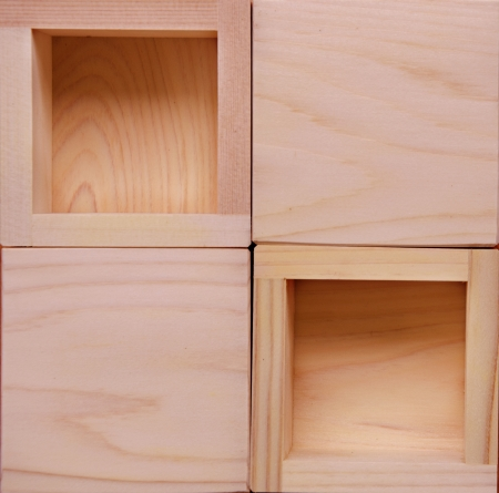 Wooden box for mailing letters photo