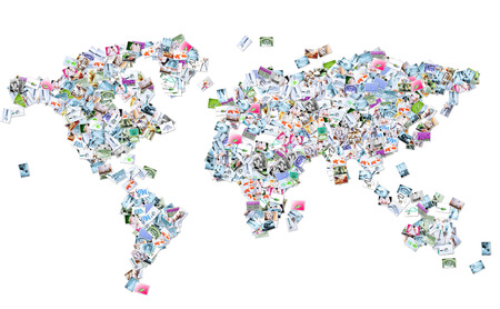 Medical world map concept. Stock Photo - 24673500